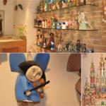 Drewniane ręcznie produkowane anioły oraz szopki bożonarodzeniowe dobre na prezent